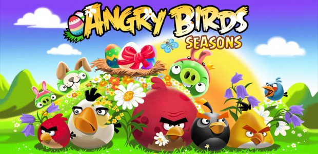 Angry Birds seasons пасха