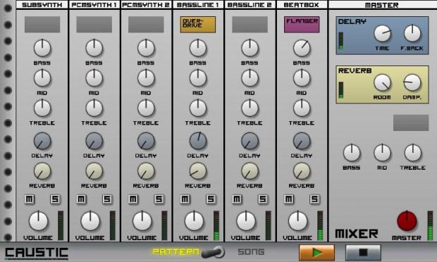 CAUSTIC Electronic Music Rack