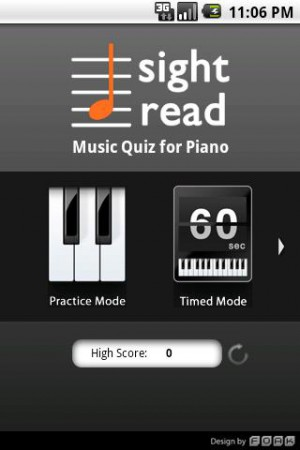 Sight Read Music Quiz