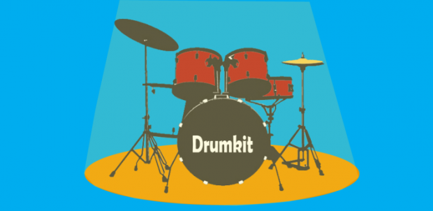 Drum Kit - a pro drum set