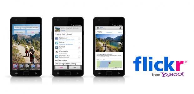 Официальный клиент Flickr для Android