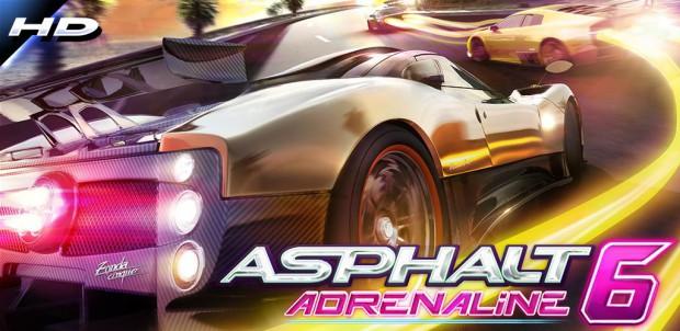 Asphalt 6 Adrenaline HD для Android