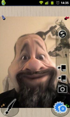 Photo Warp - Шарж из фото в android