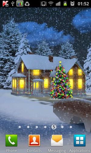Snow HD Deluxe Edition - снежные живые обои
