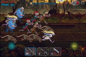 Zombie Shock для Android