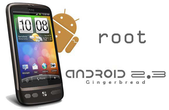 htc desire 2.3 gingerbread root
