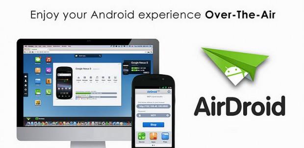 AirDroid - управление android телефоном через компьютер