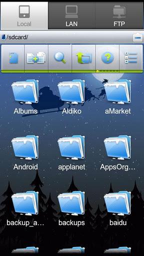 ES Проводник - файлменеджер для android