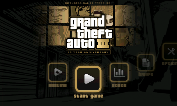 Grand Theft Auto 3 для android