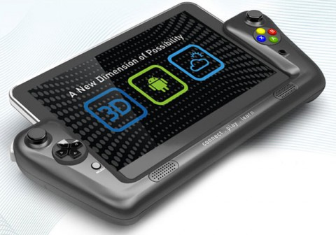WikiPad - 3D Android планшет с геймпадом