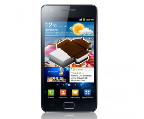 Samsung Galaxy S2 Android 4 ICS