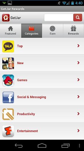 GetJar Rewards - альтернатива android market и google play