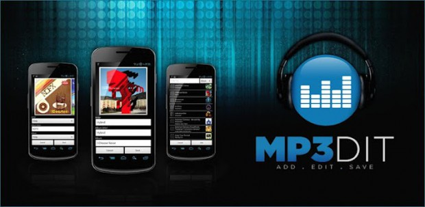 MP3dit - android редактор mp3 тегов
