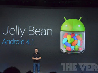 Android 4.1 Jelly Bean на Google I/O