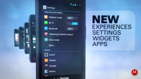 DROID RAZR и RAZR MAXX обновление до Android 4.0 ICS