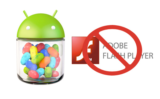 Adobe Flash Player в Android 4.1 Jelly Bean