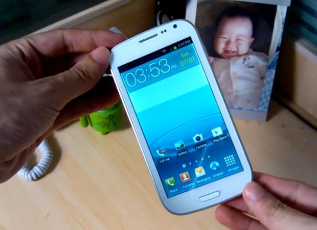 Китайская подделка Samsung Galaxy S III