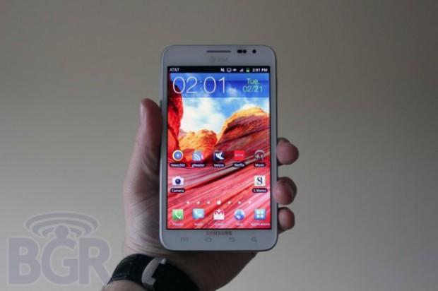 Samsung Galaxy Note II совсем скоро