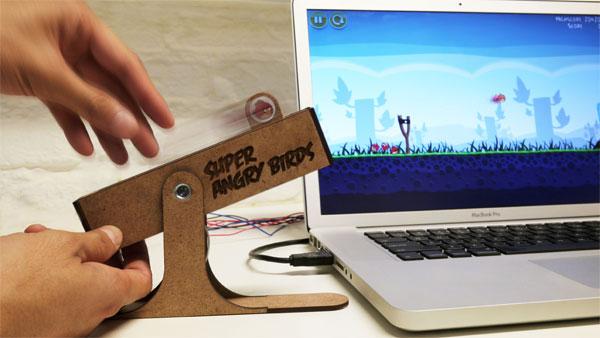 Больше реалистичности в Angry Birds с USB-контроллером