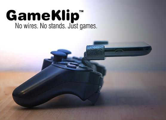 GameKlip - крепление геймпада к android смартфону