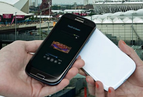 Samsung Galaxy S III в черном корпусе