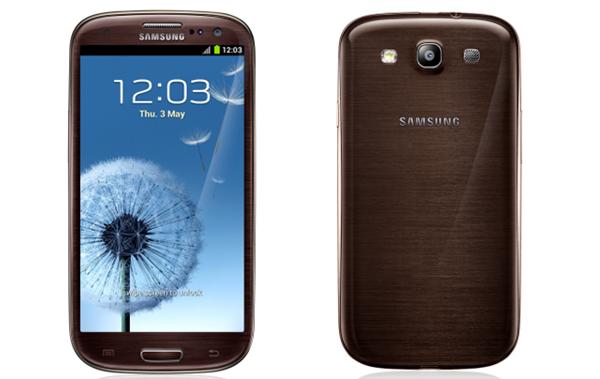 Samsung GALAXY S III коричневый