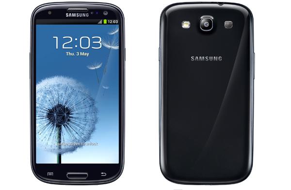 Samsung GALAXY S III черный