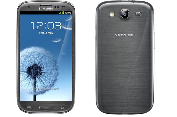Samsung GALAXY S III серый