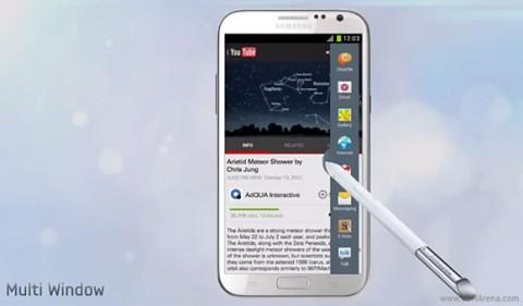 Multi-Window в Samsung Galaxy Note II