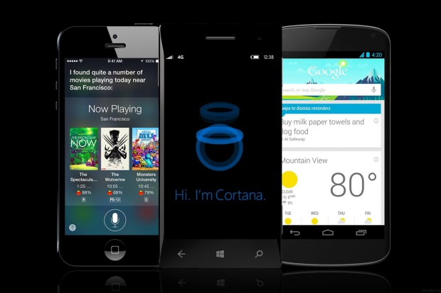 Google Now, Siri и Cortana