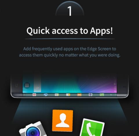 Samsung Galaxy Note Edge и его изогнутый экран