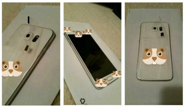 Реальные фото Samsung Galaxy S6