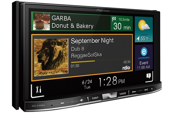 Android Auto и Apple CarPlay в системе Pioneer NEX 2.0