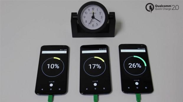 быстрая зарядка аккумулятора смартфона